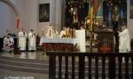 Vyskupas Algirdas Jurevičius pašventino paminklą Prelatui Povilui Pukiui