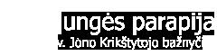 PLUNGĖS PARAPIJA Logo